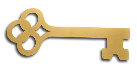Gold Olympian Key Golden Openings