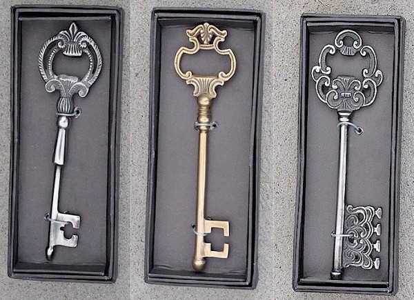 elegant key bottle opener golden openings. Black Bedroom Furniture Sets. Home Design Ideas